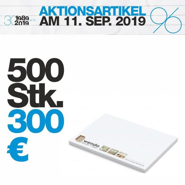 Haftnotizen 100x72mm 500 Stück Set-Preis