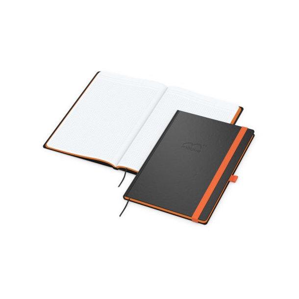 Color-Book A4 bestseller, Farbschnitt orange