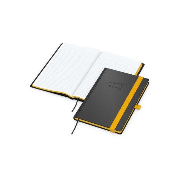 Color-Book A5 bestseller, Farbschnitt gelb