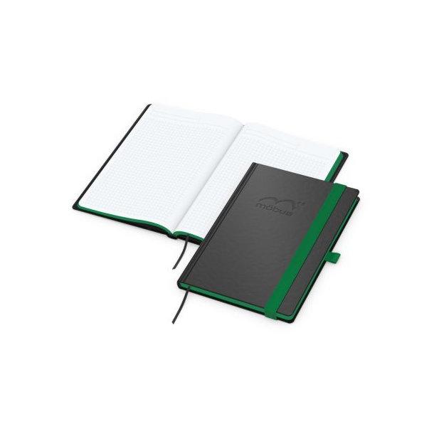 Color-Book A5 Bestseller, Farbschnitt grün