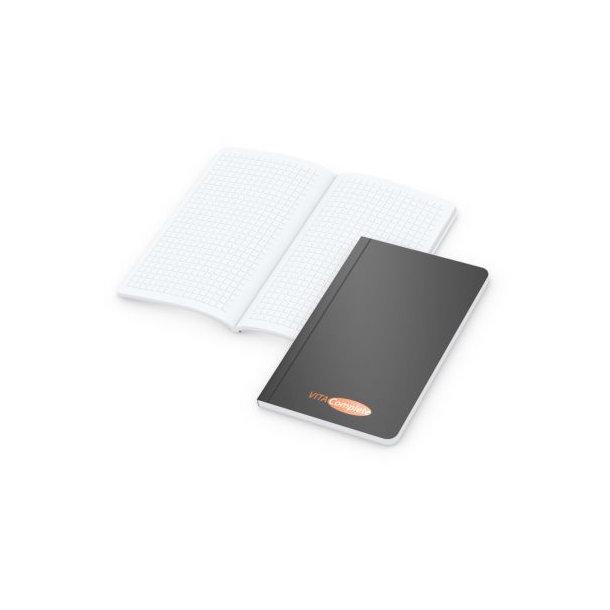 Copy-Book White Pocket bestseller, matt-schwarz, Siebdruck-Digital