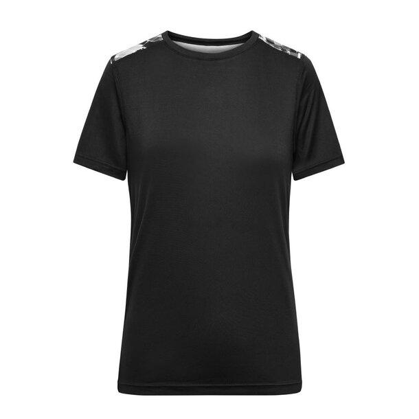 Ladies\' Sports Shirt - Funktions-Shirt aus recyceltem Polyester für Sport und Freizeit