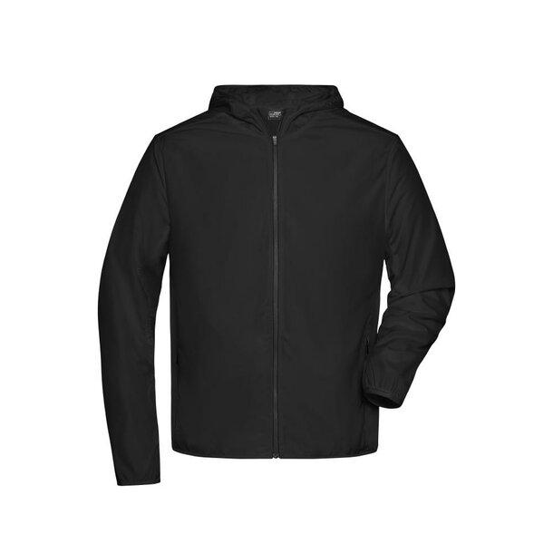 Men\'s Sports Jacket - Leichte Jacke aus recyceltem Polyester für Sport und Freizeit