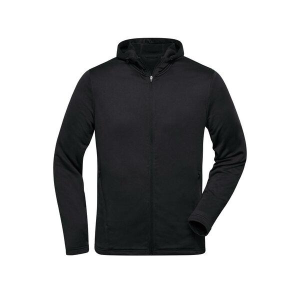 Men\'s Sports Zip Hoody - Modische Kapuzenjacke aus 100% recyceltem Polyester für Sport und Freizeit