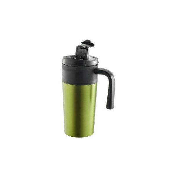 """Metmaxx® Thermobecher """"EnjoyDesignCup"""" grün - Auslaufgeschützt!!"""