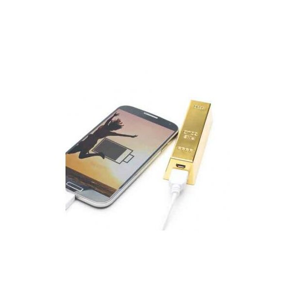 Q-Pack Goldbarren 2200 mAh gold