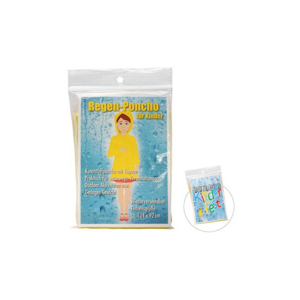 Regen-Poncho für Kinder