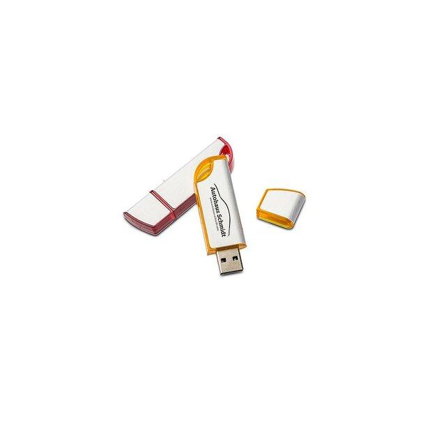 USB Stick Advanced - STOCK 4 GB gelb