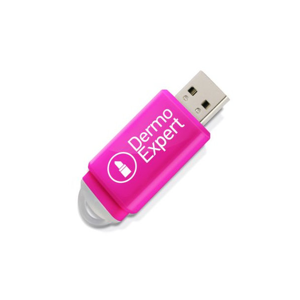 USB-Stick Slider 1 GB Rosa PMS226