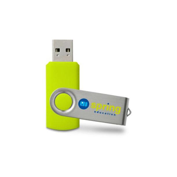 USB Stick Twister 1 GB Grün PMS382